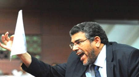 وزير العدل مصطفى الرميد يلمح إلى جنون الأمين بوخبزة !