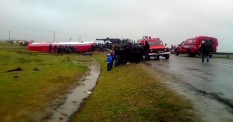 وفاة 8 أشخاص و إصابة 19 أخرون جراء إنحراف حافلة كانت قادمة من بني ملال في اتجاه الحسيمة