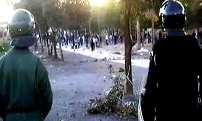 وفاة طالب إثر اقتحام قوات الشرطة للحي الجامعي بفاس