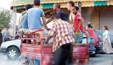 دراجات ' التريبورتور' الصينية تغزو شوارع المدن المغربية !
