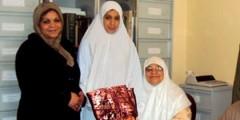 إسلام فتاة إسبانية من مليلية بمدينة الناظور في جو مؤثر