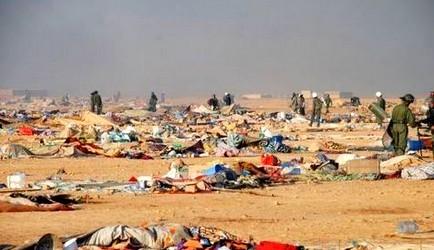 محاكمة 24 متهما في أحداث مخيم اكديم إيزيك الملغومة بالصحراء +فيديو