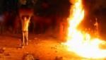 بسبب البرد القارس …قام متشرد بإضرام النار في زرابي وحصير مسجد للتدفئة