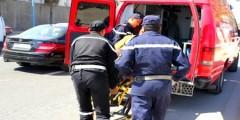 سيارة تدهس طفلا بمراكش، و تلوذ بالفرار.