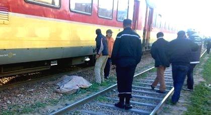 القطار يقتل رجلا أربعينيا بمدينة خريبكة