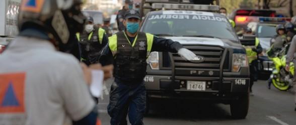 """""""فيديو"""" 33 قتيلا في انفجار بناطحة سحاب في مكسيكو"""