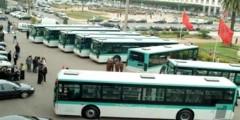 جانحون يقرصنون أسطولا من الحافلات بالدار البيضاء