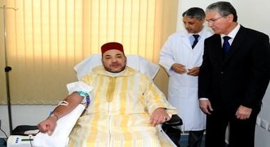 في خطوة مثيرة.. الملك محمد السادس يتبرع بدمه في فاس