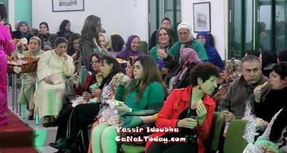 """أمسية مميزة للباس التطواني التقليدي بمؤسسة """"بيلار"""" بحضور مختلف الثقافات"""