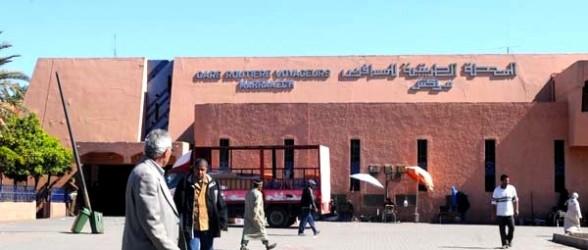 كورتي يعتدي بالضرب على شرطي بالمحطة الطرقية بمراكش