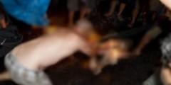 """رجل يحاول إحراق نفسه وابنه بمادة """"الدوليو"""" بالدار البيضاء"""