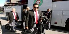 رشيد الطاوسي في طريقه إلى مغادرة المنتخب الوطني …