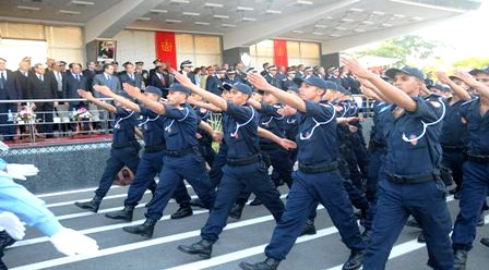 أسرة الأمن الوطني تحتفل بذكرى تأسيسها السابع والخمسين