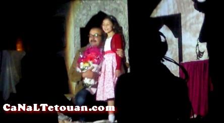 تكريم الممثل حديدان في مهرجان الفدان الوطني للمسرح في دورته الرابعة بتطوان