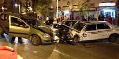 حادثة سير مروعة بمارتيل إثر إصطدام سيارتين (صور)