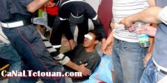 حادثة الشغل بالمدينة العتيقة بتطوان والعمال يطالبون بالتدخل النقابي