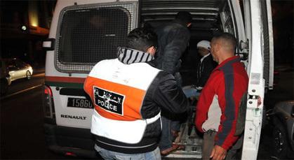 الشرطة القضائية بالناظور توقف مُرَوّجًا للكوكايين بطريق أزغنغان