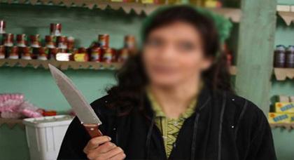 لصة مجهولة الهوية تهجم على سيدة بالسلاح الأبيض بمنزلها بالناظور
