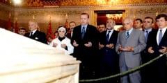 هذا ما خطهُ أردوغان في الدفتر الذهبي ترحماً على محمد الخامس والحسن الثاني