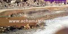 الطريق الوطنية بين طنجة والفنيدق خطر يهدد سلامة السائقين