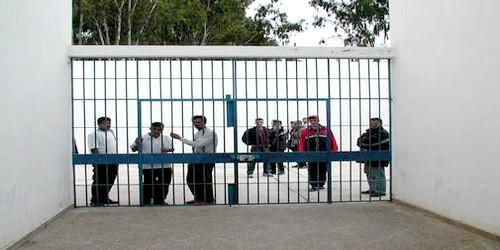 ملثمون يهاجمون موظفا بسجن طنجة بالاسلحة البيضاء !