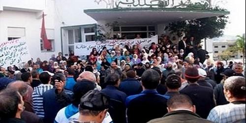 """جمعية معطلي تطوان تطالب رئيس المجلس البلدي بتفعيل """"محضر 22 فبراير"""""""