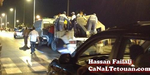 السلطات العمومية بمرتيل تشن حملة على الباعة الجائلين بكورنيش المدينة