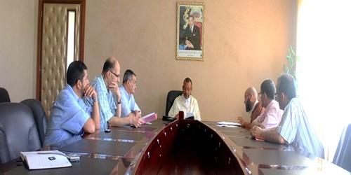 إجتماع جمعية إكرام و مواساة مع السيد رئيس الجماعة الحضرية لتطوان