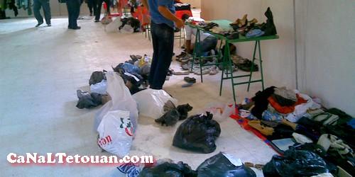 شباب تطوان يستعدون يوم السبت  لتوزيع الملابس على الفقراء في الشوارع
