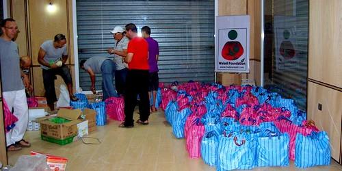 """جمعية"""" ولدي """" الخيرية بتطوان تقدم مساعدات للعائلات المعوزة بمناسبة شهر رمضان"""