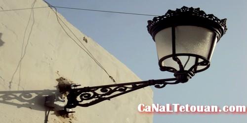 المصابيح الجديدة تهدد المواطنين بالمدينة العتيقة بتطوان