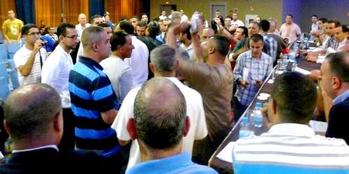 في أجواء حربية يعقد اتحاد طنجة جمعه العام ب 18 منخرط فقط