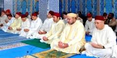الملك محمد السادس يحيي ليلة القدر في مسجد حسان