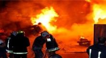 أشخاص مجهولون يضرمون النار في إقامات سكنية تابعة لأفراد الأمن الوطني بالحسيمة