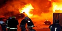 بطنجة …حريق يلتهم أكواخ لصناع تقليديين
