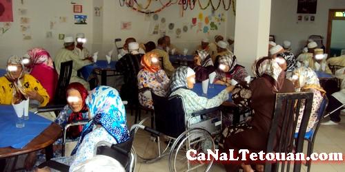 إفطار جماعي بدار العجزة ببوسافو صبيحة العيد