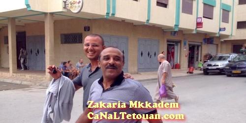 سعيد الناصري يصلي الجمعة بمسجد السي العياشي بتطوان