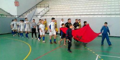 دعوة لحضور نهائي دوري كرة القدم بالقاعة المغطاة الشودري بتطوان