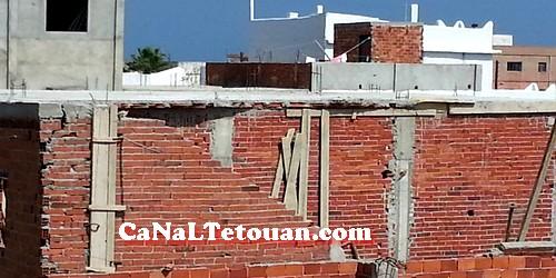 سقوط سقف منزل على عامل بناء بحي الديزة في مرتيل