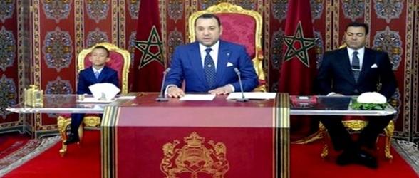 الملك محمد السادس يخاطب الشعب المغربي يوم الثلاتاء