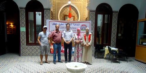 الجمعية المغربية لحقوق الطفل بتطوان تنظم نشاطا انسانيا لفائدة الايتام والمعوزين