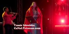 أسماء المنور تبهر جماهير تطوان بأغانيها الجميلة في مهرجان أصوات نسائية !