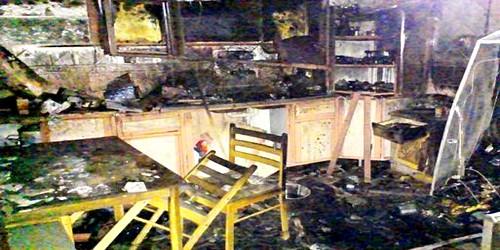 أسرة يهودية تنجو بأعجوبة من حريق مهول بطنجة