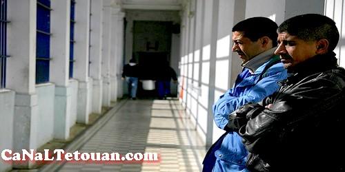 سجناء إسبان بسجن تطوان يضربون عن الطعام إحتجاجا عن عدم رحيلهم إلى بلدهم