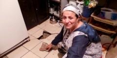 انهيار منزل الممثلة المغربية زهور صادق
