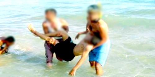 شخصان يلفظا أنفاسهما الأخيرة غرقا بشاطئ أصيلة