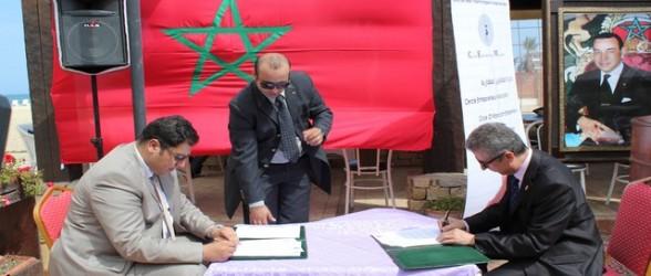 توقيع اتفاقية تعاون بالمضيق بين مقاولين مغاربة ونظرائهم من الأندلس