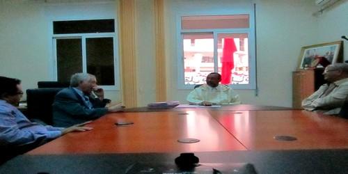 في لقائه مع ممثلي جمعية تطاون أسمير، رئيس الجماعة الحضرية يؤكد مشاركة الجماعة في الملتقى القادم حول المجتمع المدني