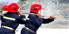 نيران قوية تلتهم غابة حي الصومال بمدينة تطوان
