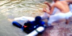 العثور على جثة طفل وسط نهر بعد أن كانت أسرته تبحث عنه بالقنيطرة
